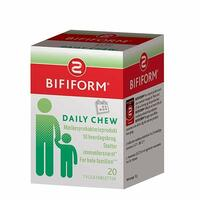 Bifiform daily chews, 20 tab/12gram
