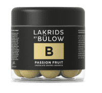 Lakrids by Bülow B – PASSION FRUIT, 125 gram.