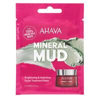 AHAVA Single use Brightening & Hydrating Mask, 6 ml.