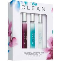 Clean Perfume Rollerball Layering Trio 3 x 10 ml (Limited Edition)