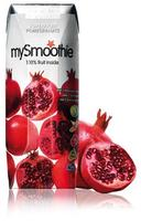 mySmoothie Granatæble, 4 x 250ml.