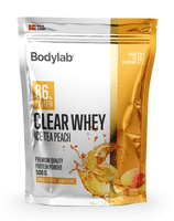 Bodylab Clear Whey Ice Tea Peach, 500 g.