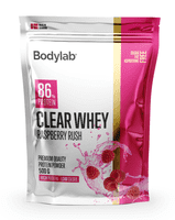 Bodylab Clear Whey Raspberry Rush, 500 g.