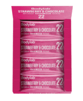 Bodylab Protein Bar Strawberry & White Chocolate (12 x 65 g)