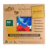 Bee Wrappy Beeswax Food Wraps 2 x Small