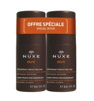 Nuxe Men 24-hr Protection Deodorant DUOPACK, 2x50ml.