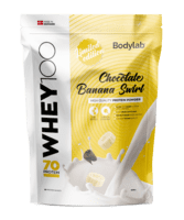 Bodylab Whey 100 Chocolate Banana Swirl, 1kg.
