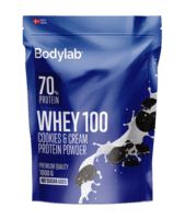 Bodylab Whey 100 Cookies & Cream, 1kg.