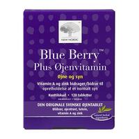 Blue Berry Plus øjenvitamin, 120tab.