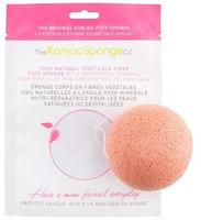 The Konjac Sponge Face, pink clay for tired or devitalised skin, pink, 1stk.