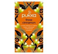 Pukka Three Cinnamon te 3 slags kanel Ø, 20br.