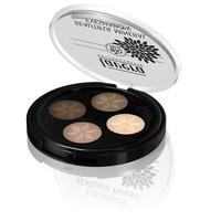 Lavera Beautiful Mineral Quattro Eyeshadow Cappuccino Cream 02 Trend