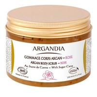 ARGANDIA Argan Body scrub Rose, 150ml.