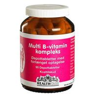 Health Care Multi B-vitamin kompleks, 90tab.