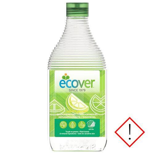 Ecover opvask lemon, aloe vera, 450ml.