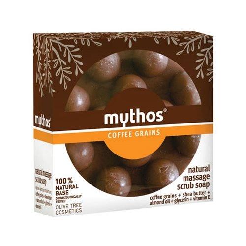Mythos Natural massage scrub soap cofee grains