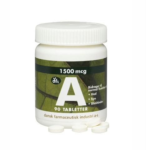 A vitamin 1500 mcg/5000 ie 90 tabl.