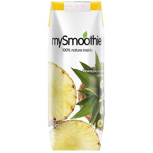 mySmoothie ananas m. ananas & kokosmælk 250 ml.