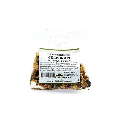 Krydderier til julesnaps, 25 g