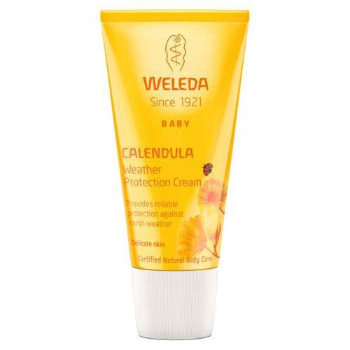 Calendula Weather Protection Cream Mamma og Baby Weleda, 30 ml