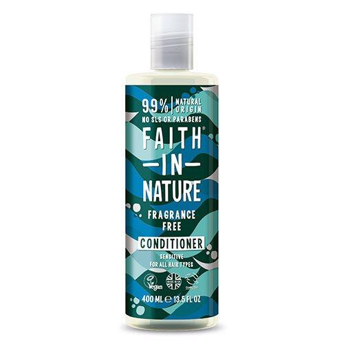 Faith in nature Balsam Fragrance Free, 400 ml.