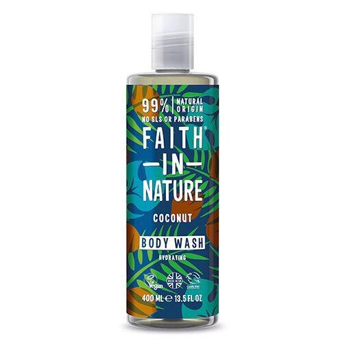 Faith in nature Showergel kokos, 400 ml.