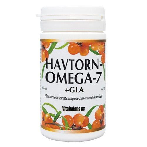 Havtorn omega 7 + GLA,60 kap / 51,70 g
