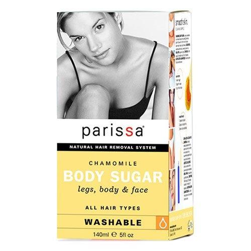 Parissa Body sugar chamomile for ben, krop og ansigt, 140 ml
