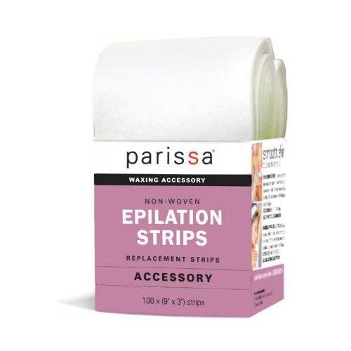 Parissa Epilation strips large 9x3 cm, 1 stk
