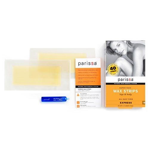 Parissa Wax strips ben og krop super pack, 1 stk