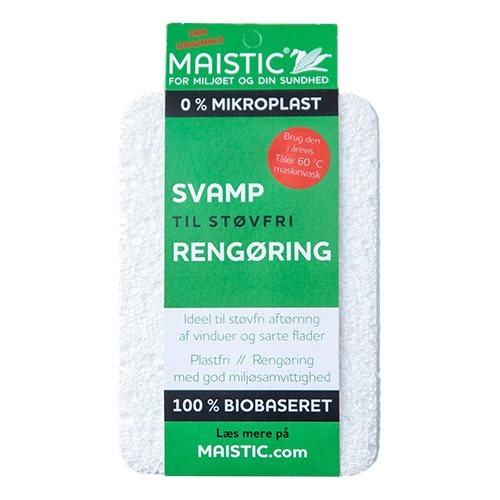 Svamp til støvfri rengøring Fri for mikroplast, 1 stk