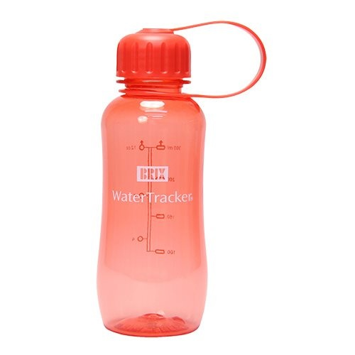 WaterTracker 0,3 L. Coral BPA-fri drikkeflaske 0,3 L Coral, 0 stk