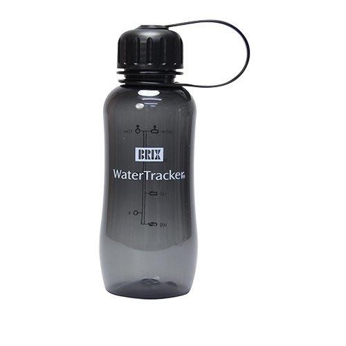 WaterTracker 0,3 L Black BPA-fri drikkeflaske af Tritan, 1 stk