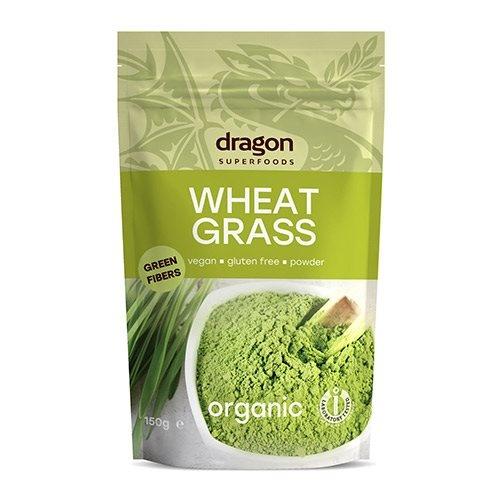Hvedegræspulver Ø - Dragon Superfoods, 150 g