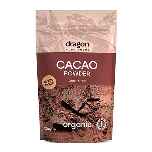 Kakaopulver Ø - Dragon Foods, 200 g