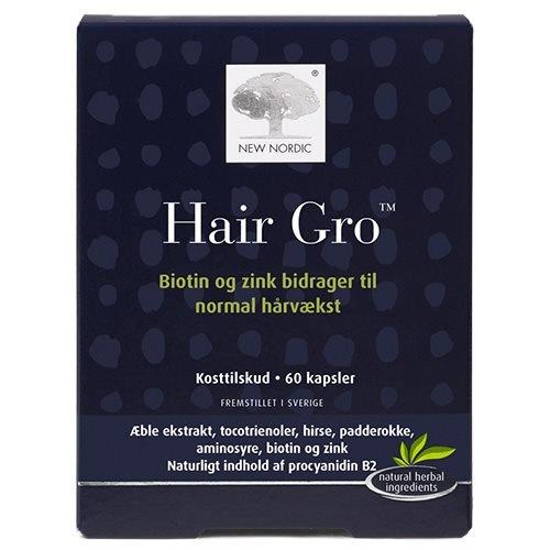 Hair Gro New Nordic, 60 kap / 45,30 g