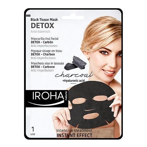 Detox black tissue mask, 23 ml