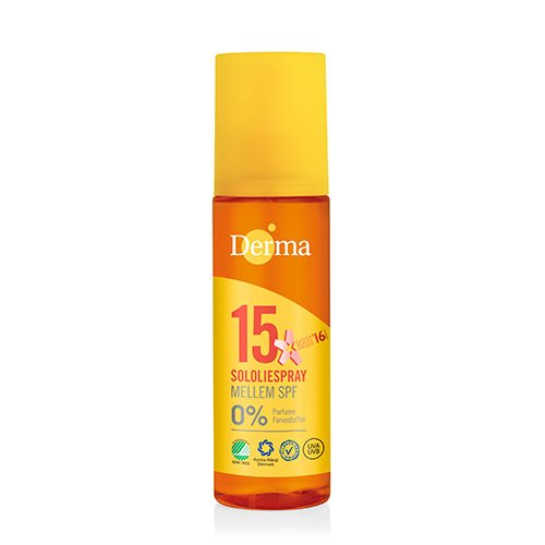 Derma sololie spray SPF 15, 150ml