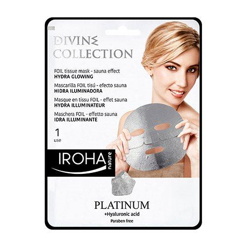 Tissue mask platinum foil hydra glowing, 25ml
