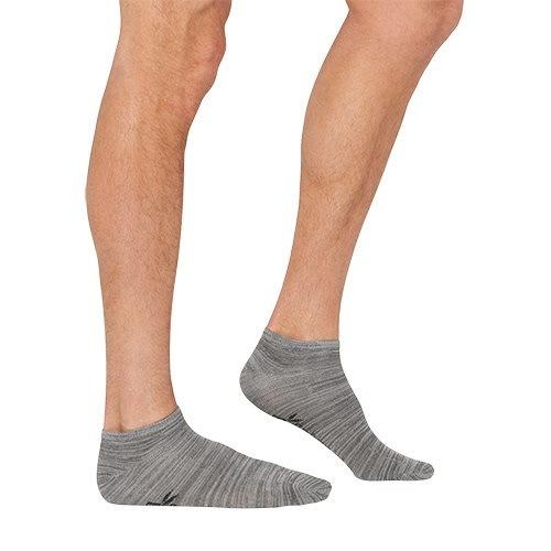 Strømper Herre grå str. 39-45 Low cut/sneaker, 1stk