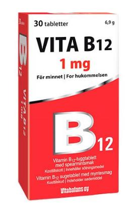 Vita B12, 30 tab.