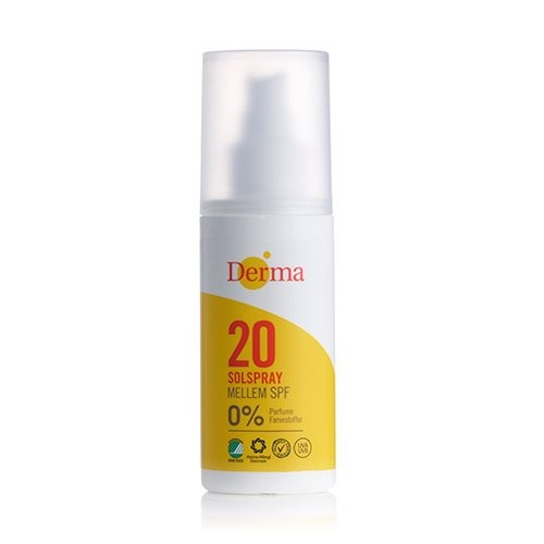 Derma solspray SPF 20, 150ml