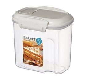 Sistema Opbevaringsboks Transparent Mini Bakery, 645 ml.