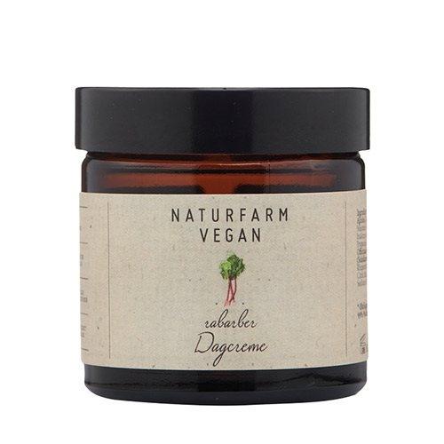 Naturfarm Vegan Dagcreme Rabarber, 60 ml.
