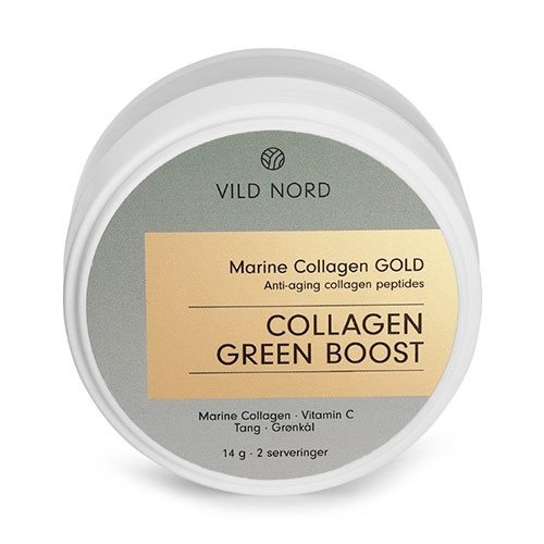 Vild Nord Marine Collagen GREEN BOOST, 14 g.