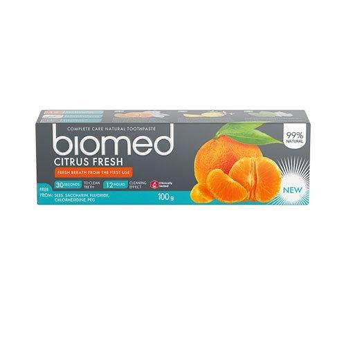 Tandpasta Biomed Citrus Fresh, 75ml.