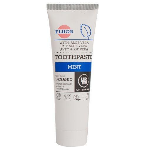 Tandpasta m. mint og flour, 75ml.