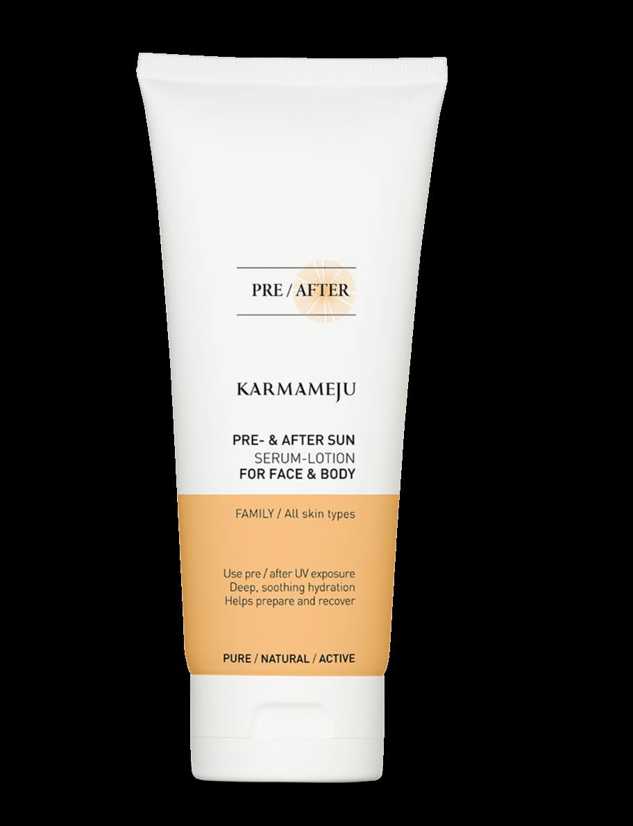 Karmameju AFTERSUN Serum-lotion, 200 ml.