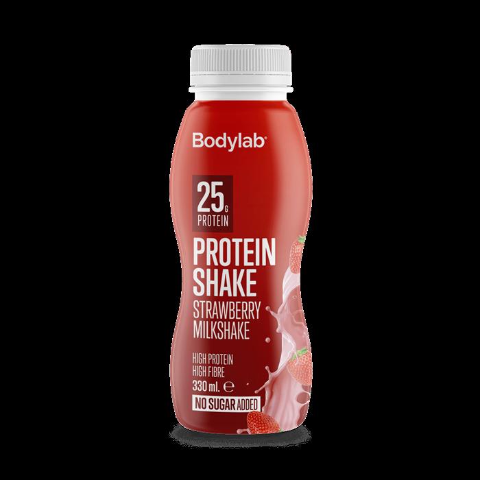 Bodylab Protein Shake - Strawberry Milkshake, 330ml.