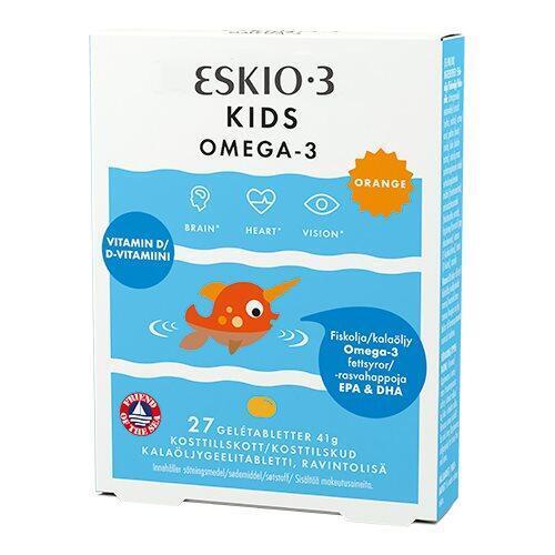 Eskio-3 Kids Omega-3 orange, 27tab.
